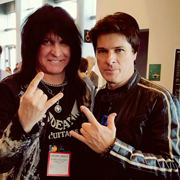 Michael Angelo Batio and Mike Himmel