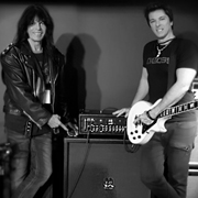 Rudy Sarzo (Legendary bassist from Ozzy Osbourne, Dio, Quiet Riot) stopped by to look at the Waza amp at NAMM